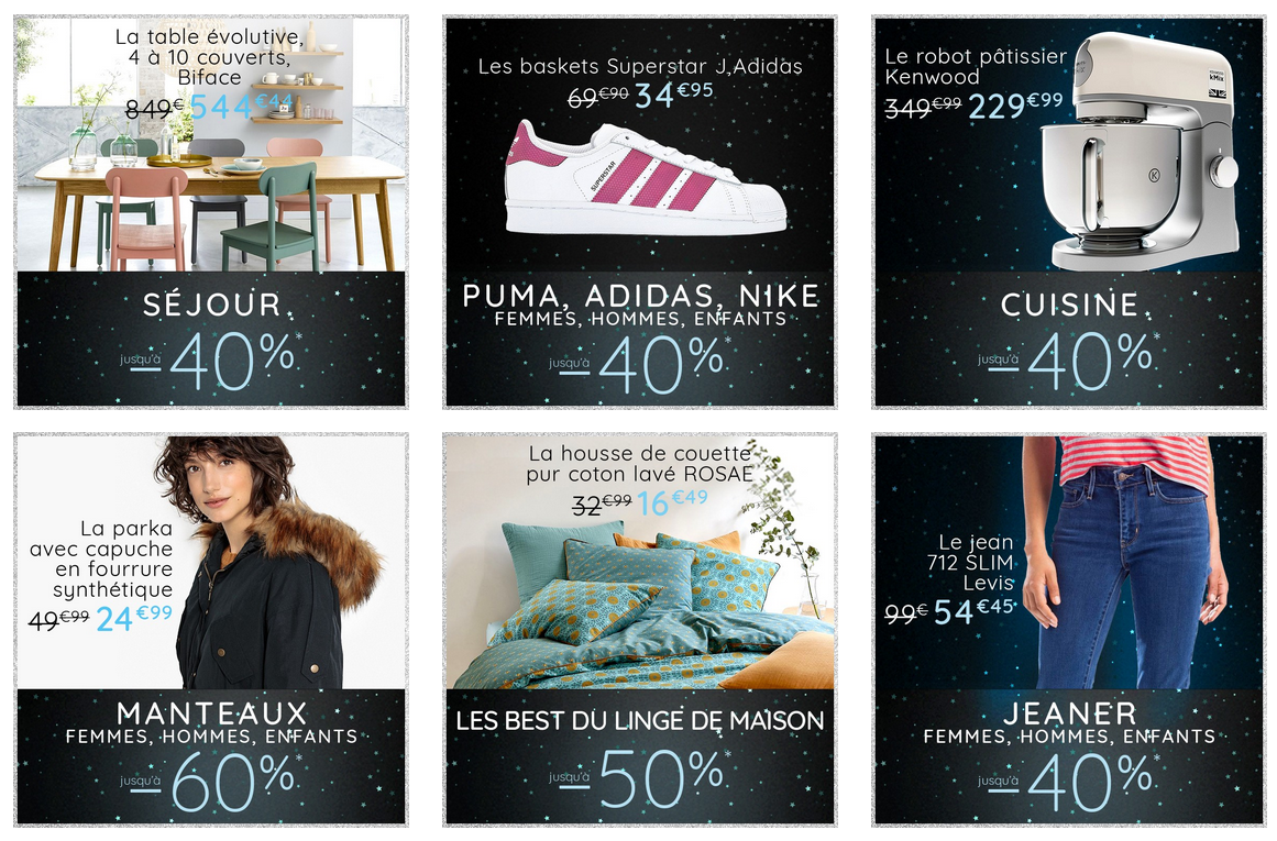 la redoute promo black friday