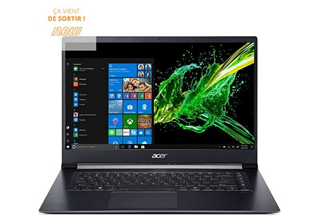 Ordinateur portable Acer black friday