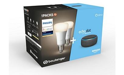 Pack Amazon Echo Dot3